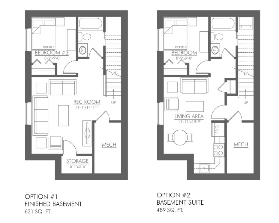 Carlyle 1249 basement