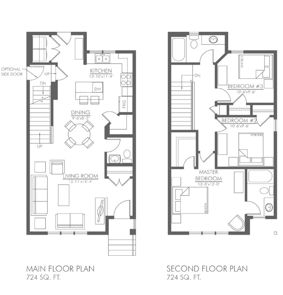 Dorato floorplan