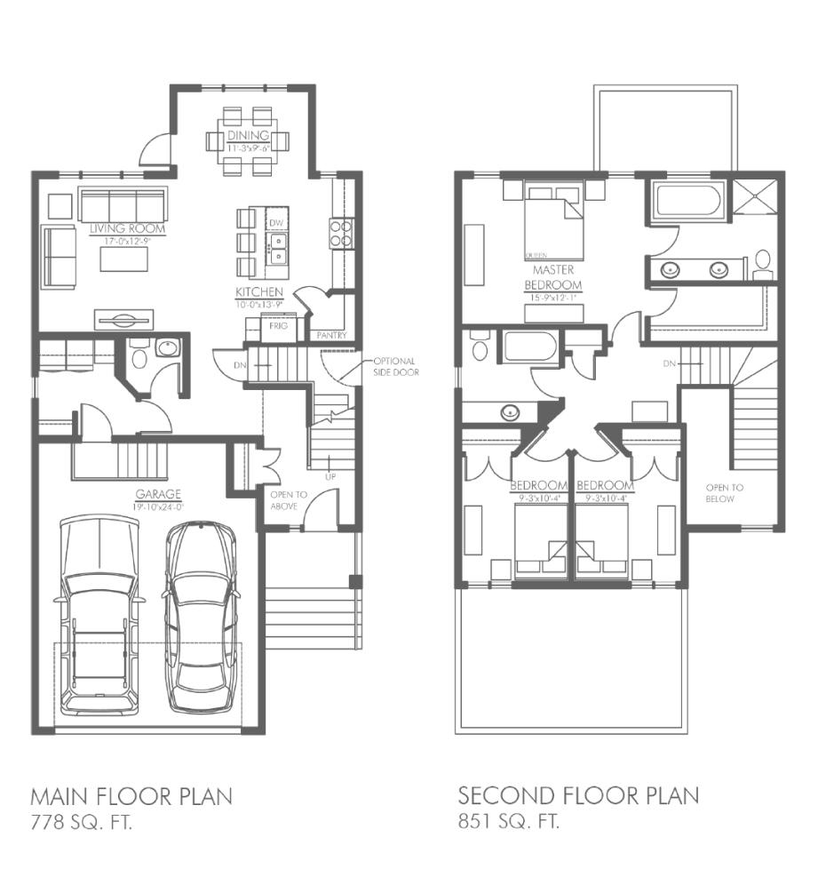 endeavor floorplan