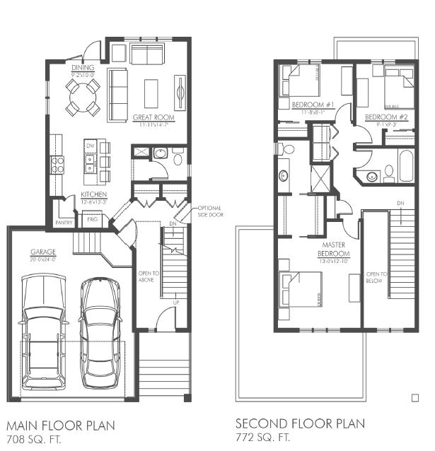 milestone floorplan